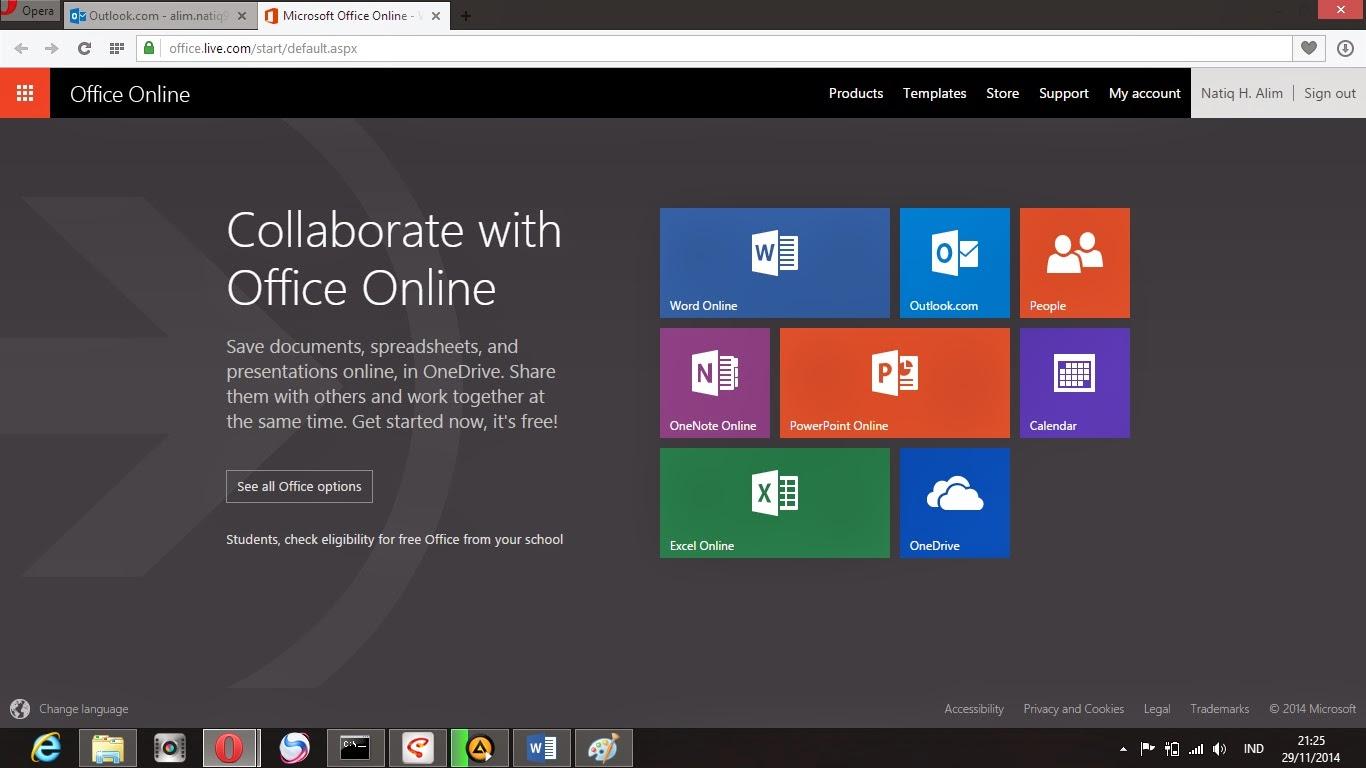 Cara Membuat Akun Microsoft dan Mencoba Fitur Office Online