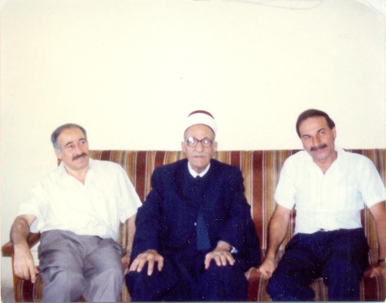 محمد الحبوبي . رشاد المفتي . د. أحمد الموسوي