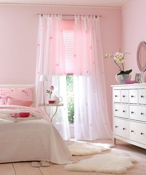 And My Old Bedroom... I Loved The Pink, I Believe It Was Called Ballet  Pink. White, Pink, And Black Was The Girliest, Prettiest Combination, ...