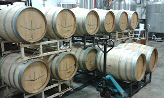 14 lambic barrels full.  O'so Brewing & Funk Factory collaboration