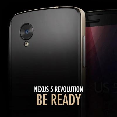 nexus 5 teased by spigen