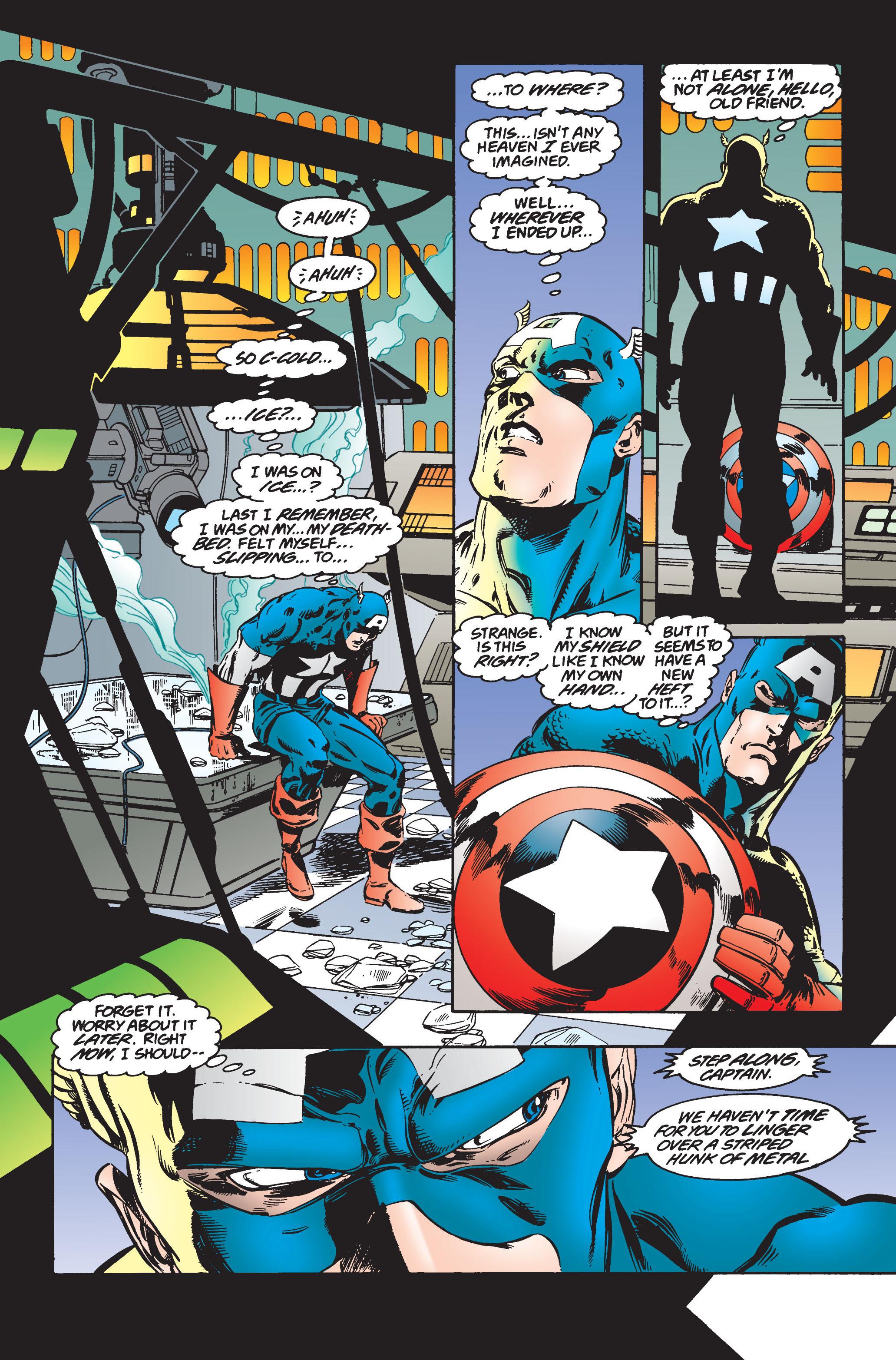Captain America (1968) Issue #445 #399 - English 6