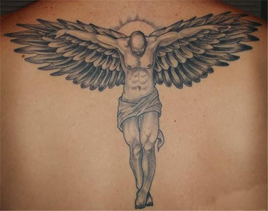 zyzz tribal tattoos da masculinas: Tatuagens de (Arcanjo, e anjos Tatuagens guerreiro