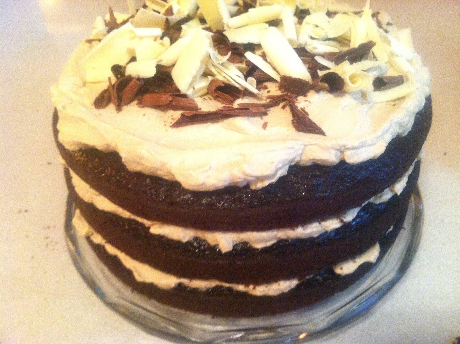 sixteen cakes: Chocolate Irish Whiskey Cake Magic