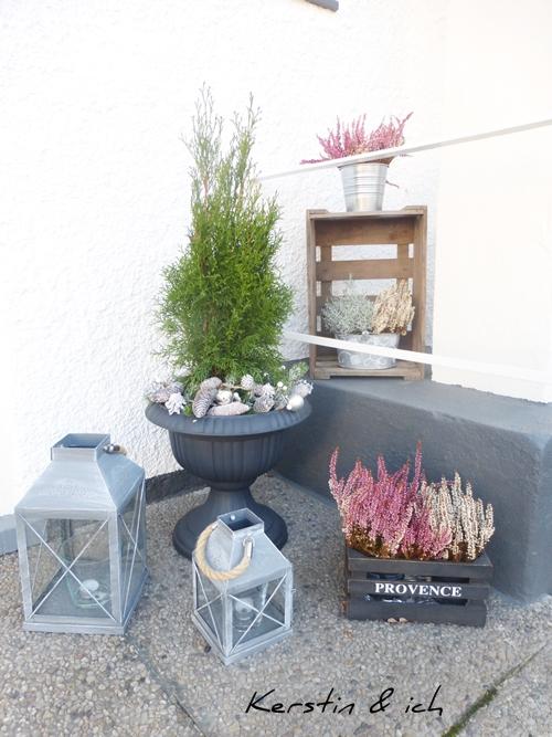 Blumendeko Hauseingang