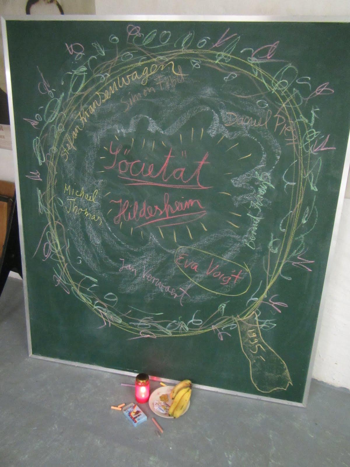 Kein Stück Societät - ein Abendessen zur Geschichte der Sozietät Hildesheim im Kunstraum Via 113