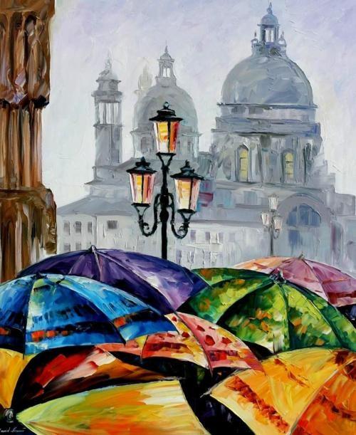 Art Friday: the Umbrella and parasol
