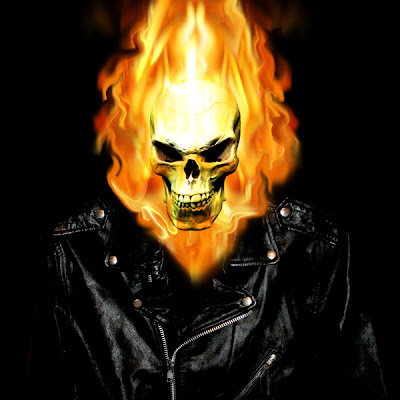 Ghost Rider Character Review - 2 (scary face)