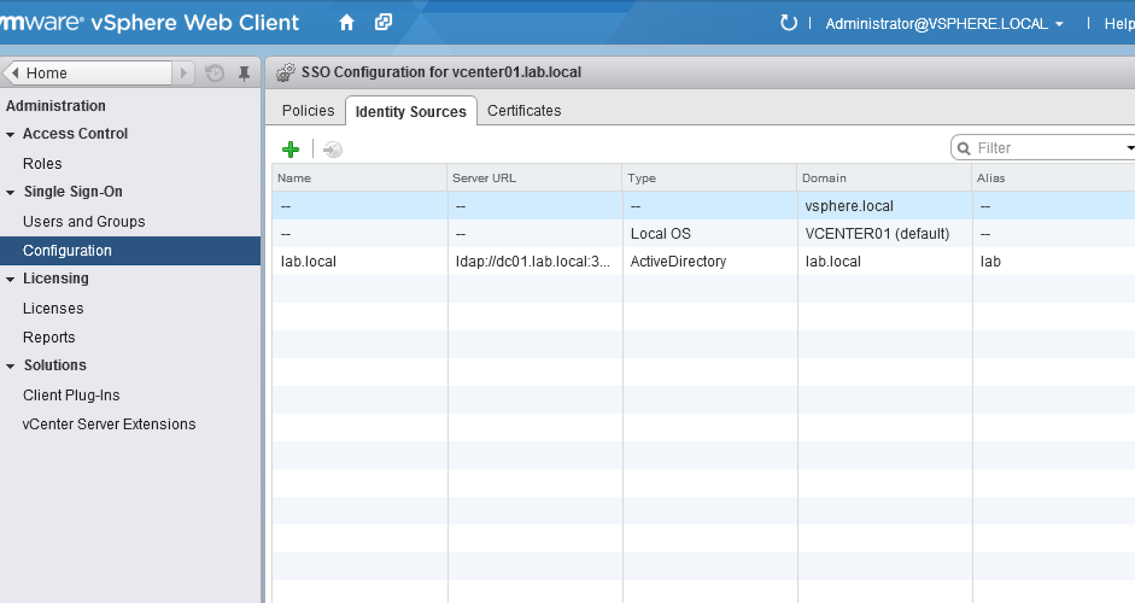 how to use vsphere web client 5.5