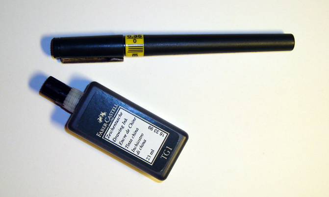 olika typer av pennor