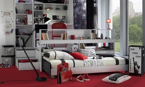 Ikea Chambre Ado Lit Mezzanine: Un lit mezzanine pour ner de la ...
