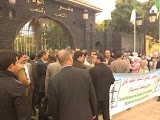 تجمع احتجاجي أمام مقر ولاية مسيلة حول مشكلة السكن