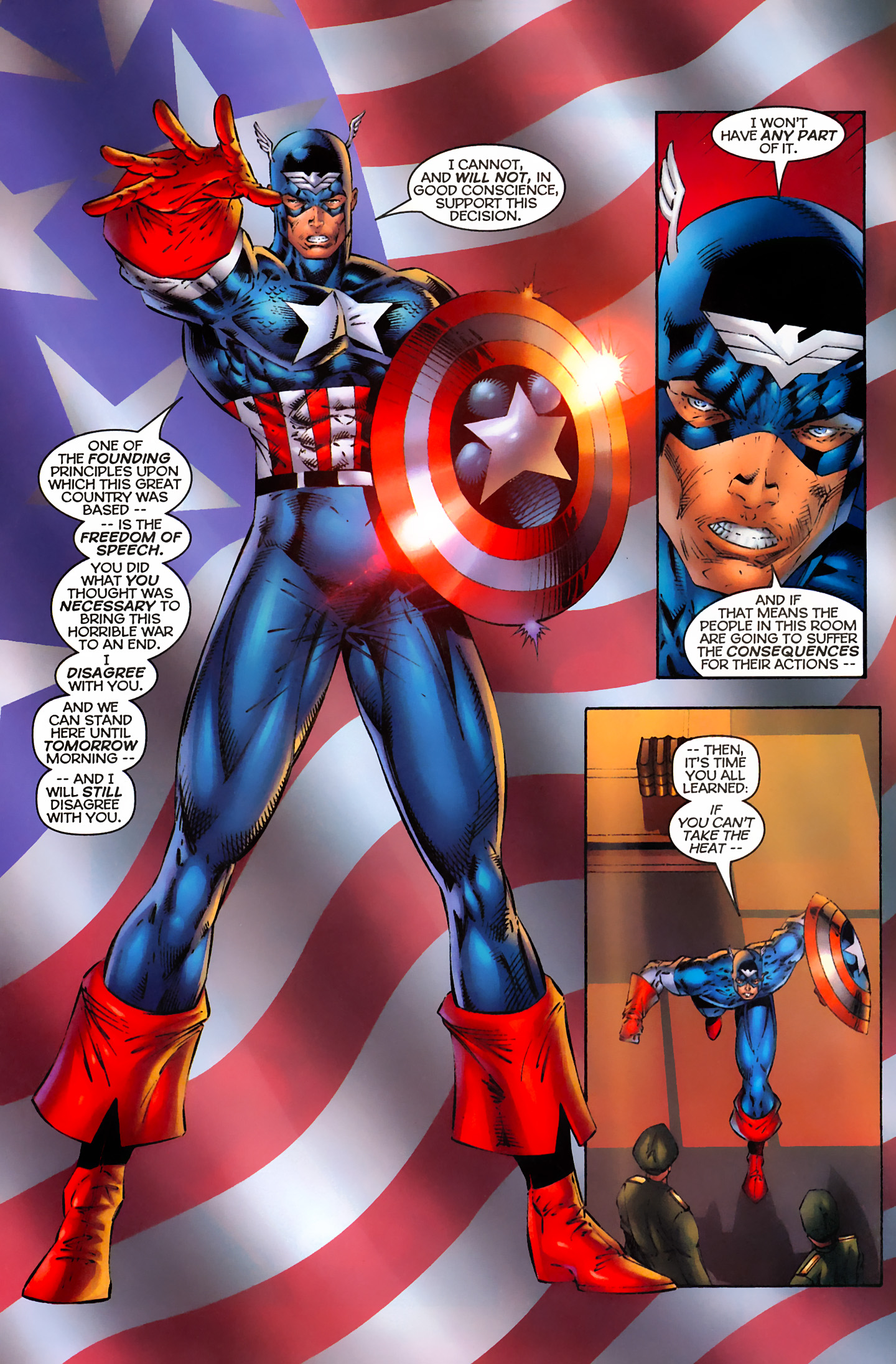 Captain America (1996) Issue #3 #3 - English 5
