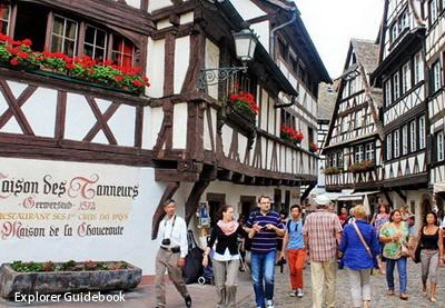Tempat wisata terkenal di Perancis Strasbourg alsace perancis
