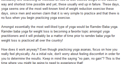 1bestof Ramdev Baba Yoga For Weight Loss