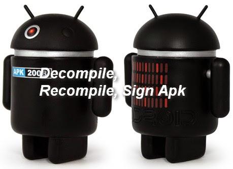 Cara Decompile, Compile dan Sign Apk Tanpa PC | Harus Tau!