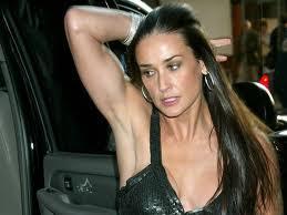 Demi moore armpits