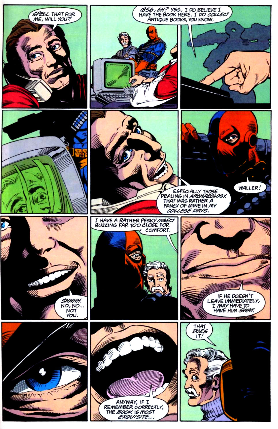 Deathstroke (1991) Issue #28 #33 - English 12