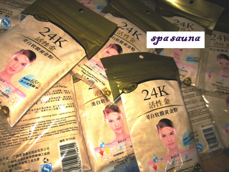 24K GOLD WHITENING SOFT MASK POWDER