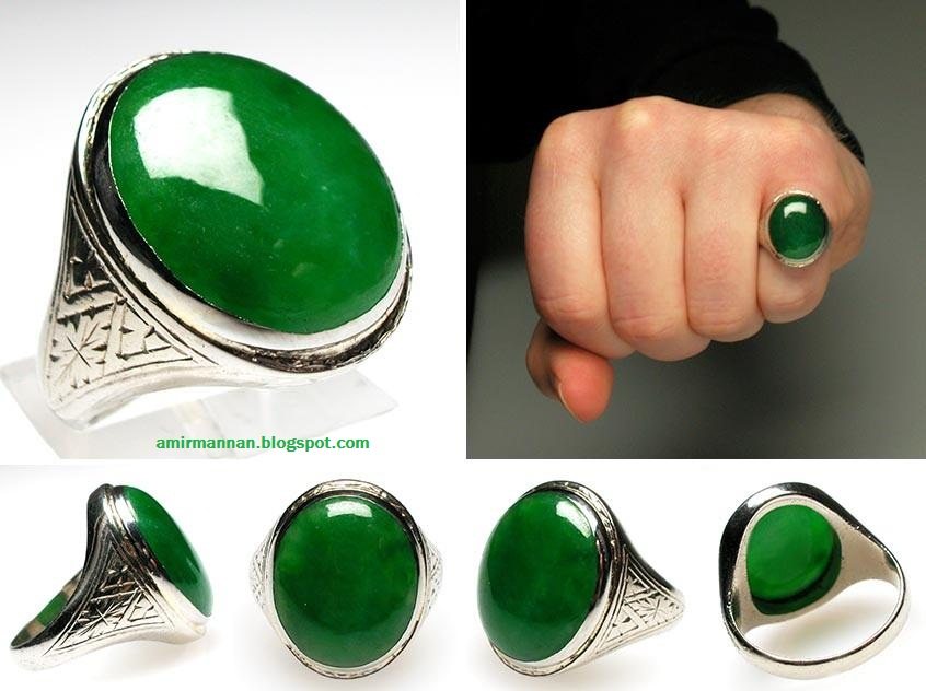 Imperial Jade Ring For Sale