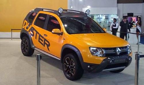 Diilhami Terminator Konsep Renault Duster Siap Perang