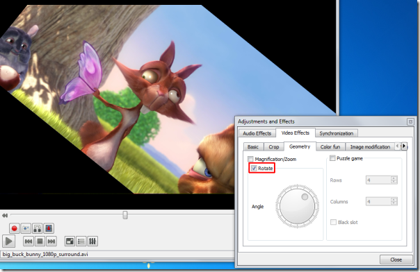 Video Rotation , VLC features, vlc modifications, vlc player, vlc usage, Video Rotation in VLC