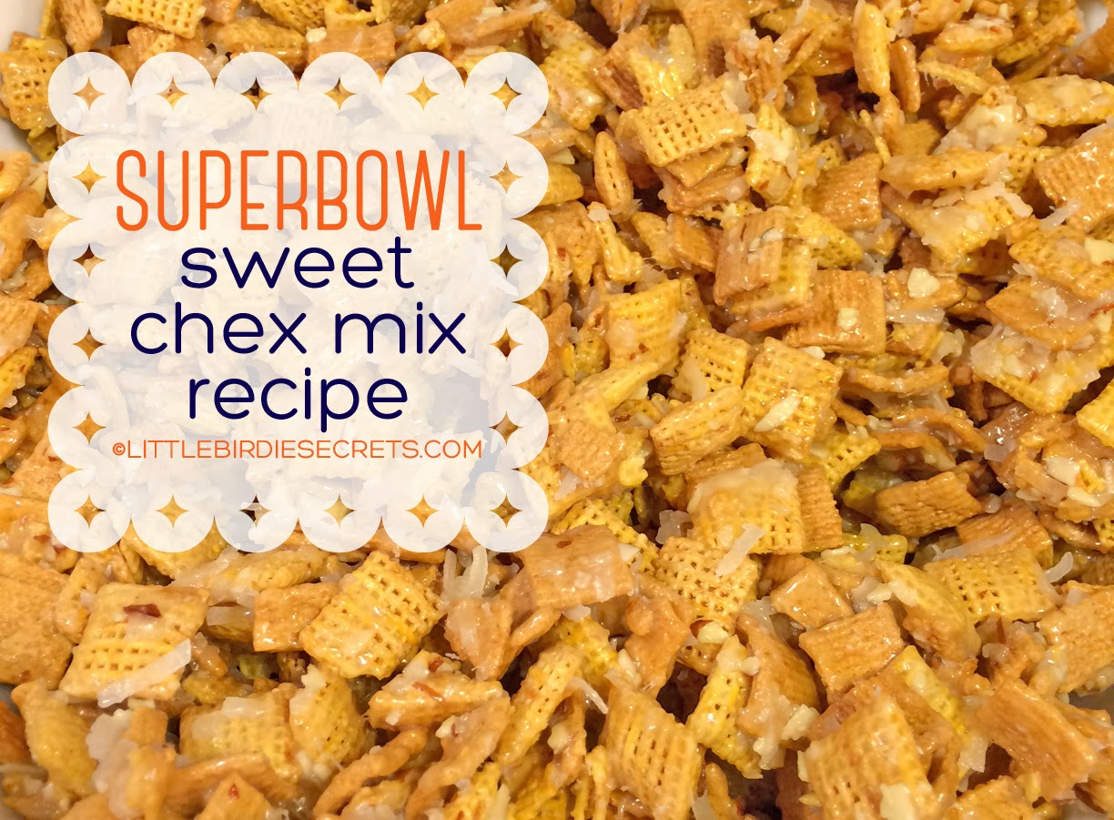 superbowl & valentine's chex mix {recipe} | Little Birdie ...
