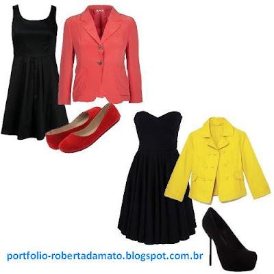 Look do Dia - Blazer, Vestidos, Sapatilhas e Saltos
