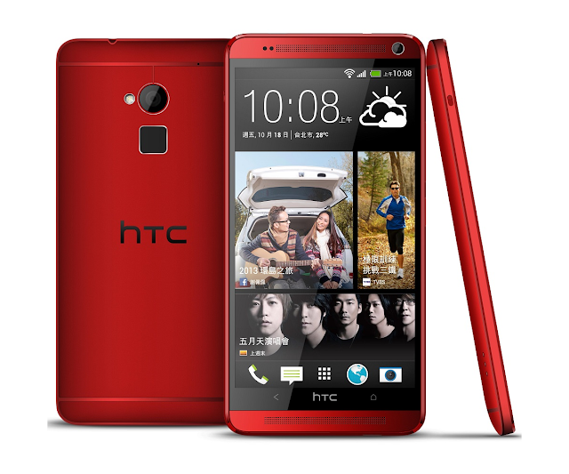 Red HTC One Max