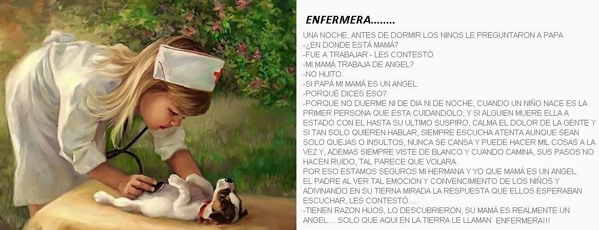 ENFERMERA ENFERMERO PARA USTEDES