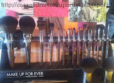 Nuova Gamma Pennelli Make Up For Ever MUFE - review recensione storia -
