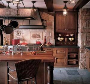 Cozinhas rusticas em pedra