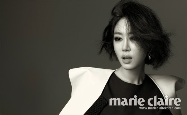 Kang Ye Won Marie Claire February 2014