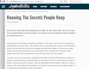 Knowing The Secrets People Keep