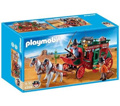 4399 Diligencia de playmobil en Chafalladas