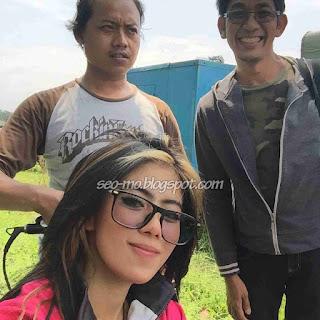 Foto Terbaru Indri Barbie Dilokasi Syuting Anak Jalanan RCTI