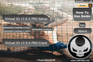 Virtual DJ v7.0.5 PRO Full Release + Crack Atomix Production.