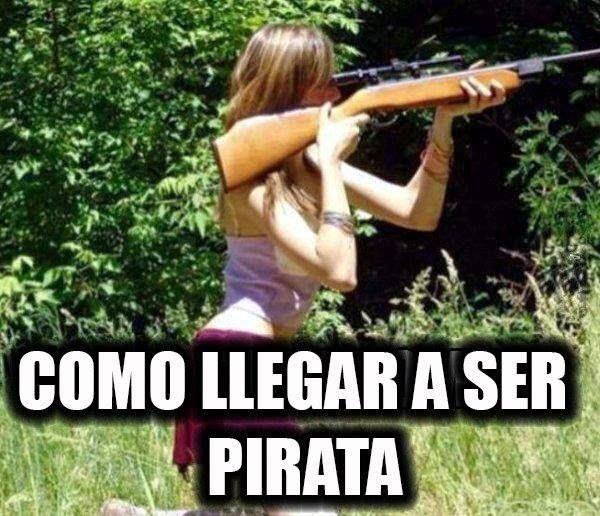 Como ser pirata