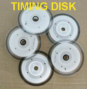 Timing disk printer canon