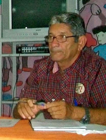 NOTICIAMOS O FALECIMENTO DE ACINDOU FERREIRA DAMASCENO.