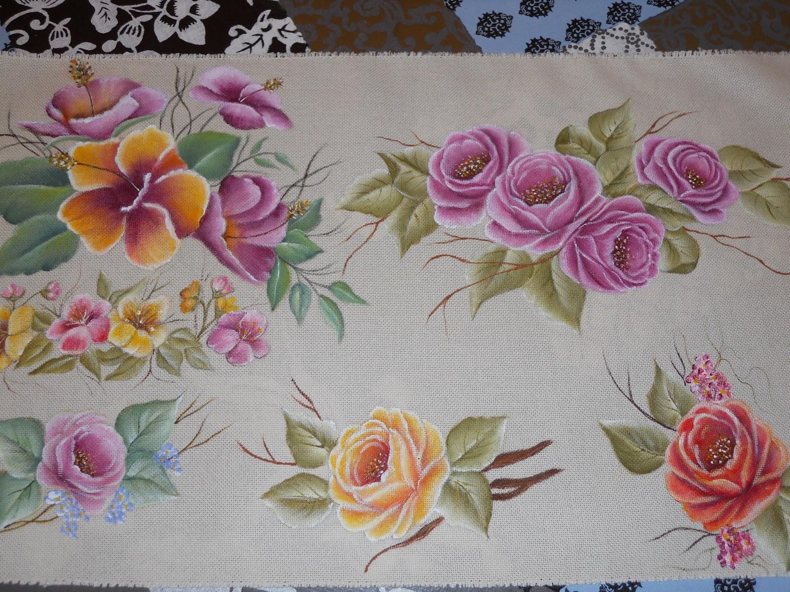 Detalles de FELI.: Pintado a mano sobre tela