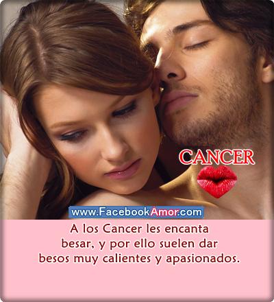 besos de signo cancer