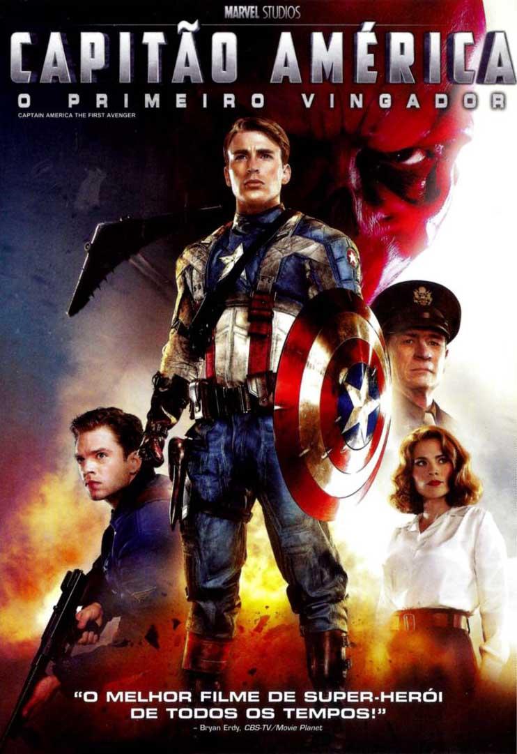 Capitão América: O Primeiro Vingador 3D Torrent - BluRay 1080p Dual Áudio