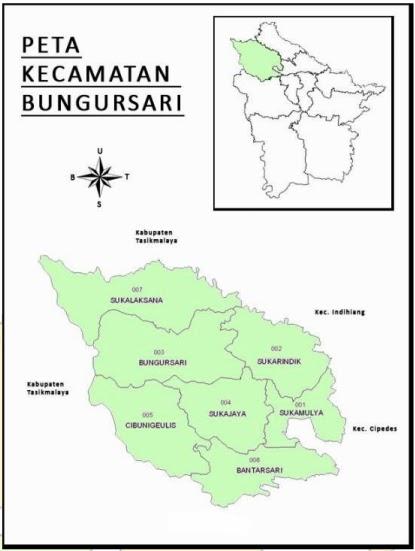 Kelurahan di Kecamatan Bungursari