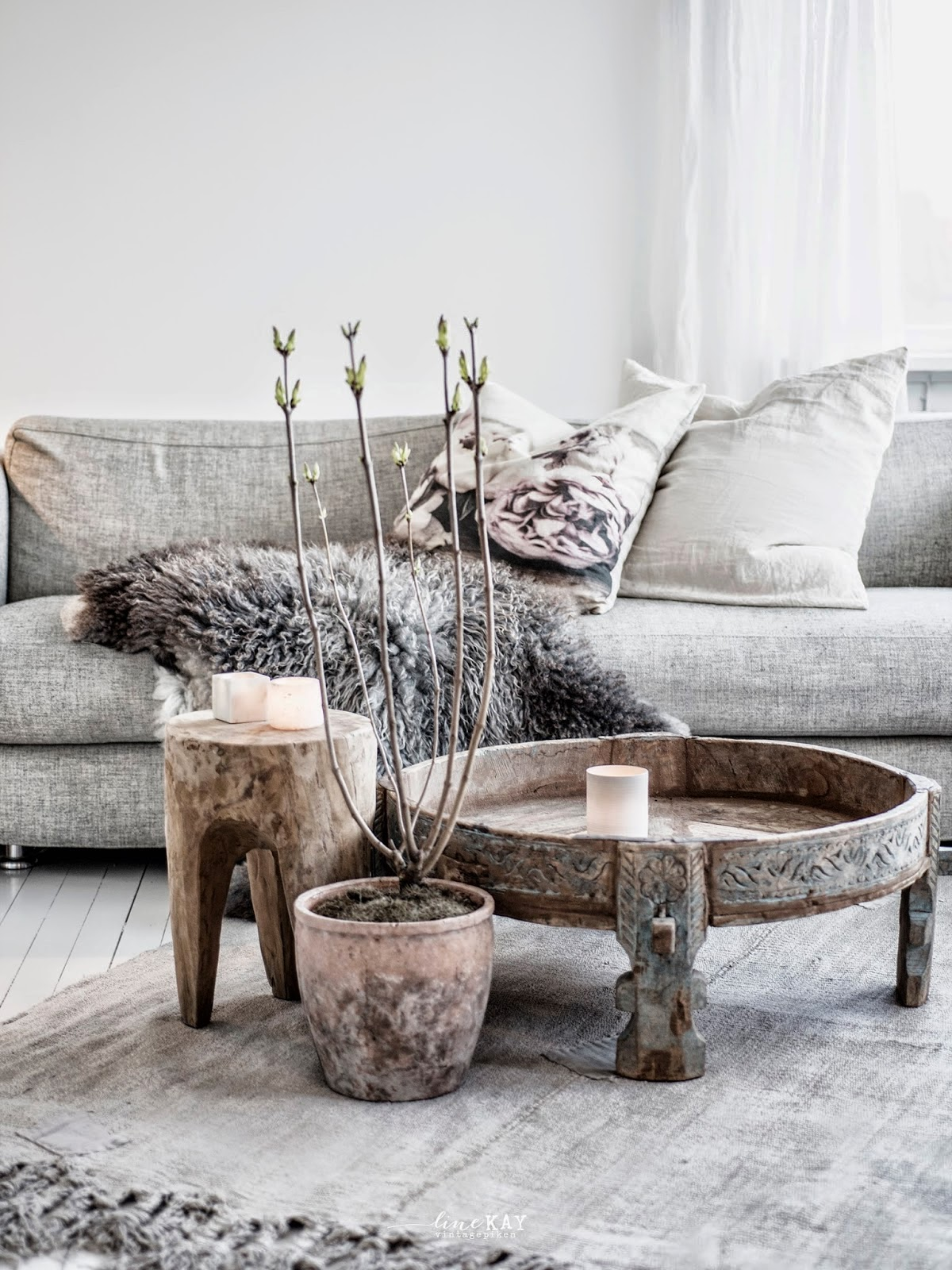my scandinavian home A Norwegian space with a boho rustic touch