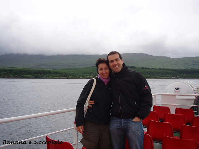 traghetto isola di Mull, Scozia