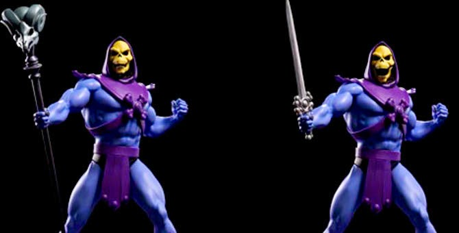 Mostrata la versione colorata di Skeletor della POP Culture Shock