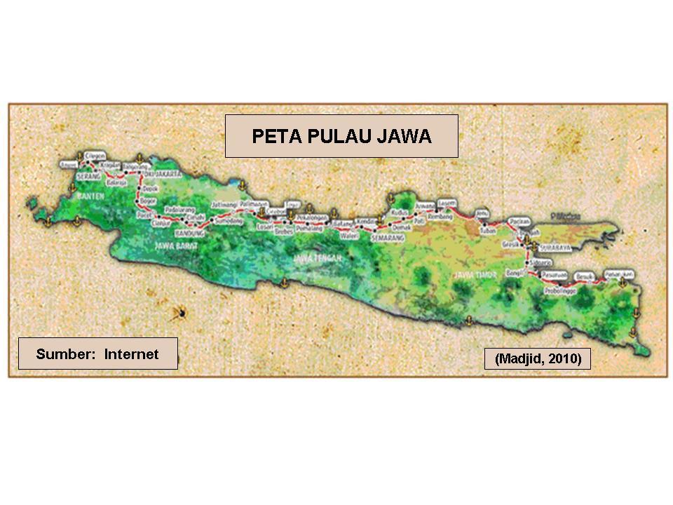 Pulau Jawa Map