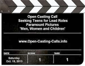 Men, Women, and Children Open Casting Call