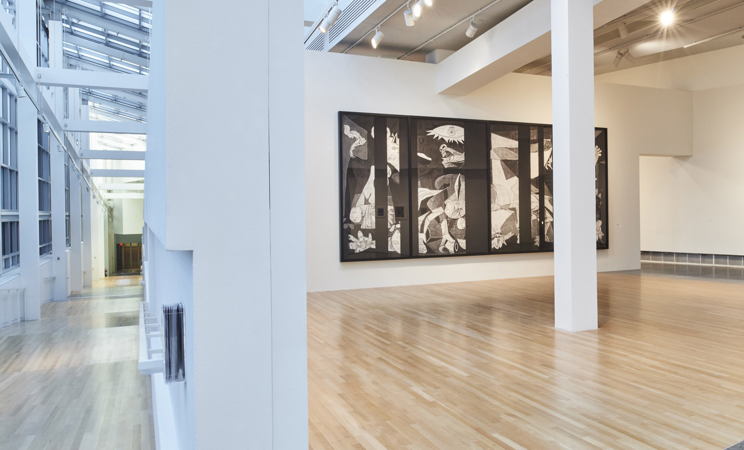 Marvelous Robert Longo Guernica Redacted After Picasso us Guernica